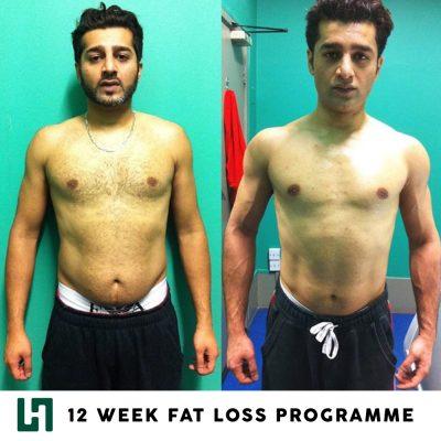 Liam Horne personal training